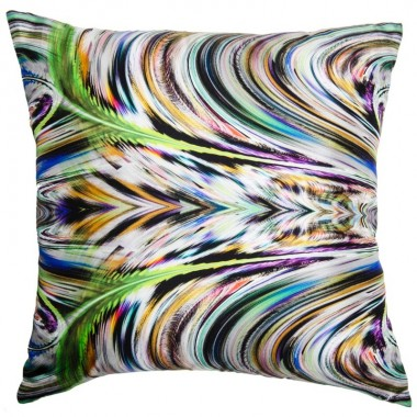 CUSHION SILK LINEN SPIRALE
