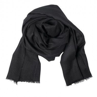 SHAWL CASHMERE BLACK