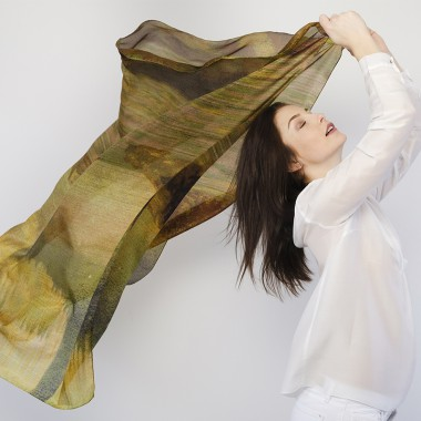 LARGE SQUARE SILK BOREAL
